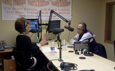 In The Studio with Larvetta L. Smith on the Let's Get Down To Business Show
